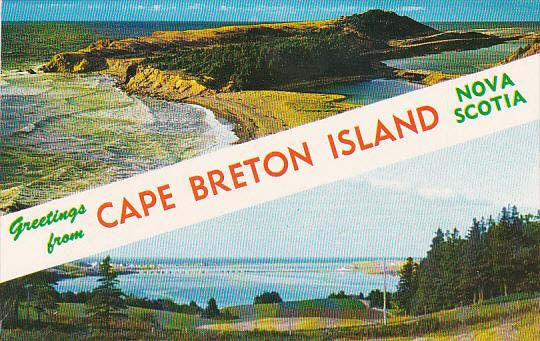 Canada Nova Scotia Cape Breton Greetings From Cape Breton Island