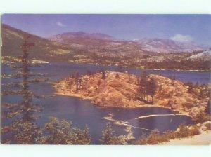 Pre-1980 LAKE Camp Spaulding by Colfax & Auburn & Truckee & Lake Tahoe CA AE4068