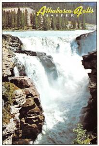 Canada Athabasca Falls Jasper National Park