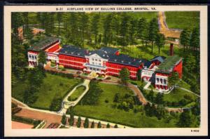 Bird's Eye View of Sullins College,Bristol,VA