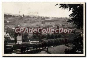 Postcard Old Arbresle Rhone General view and the Church