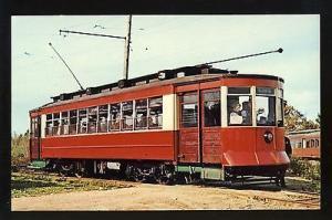 Kennebunkport, Maine/ME Postcard, Chicago Trolley, Seashore