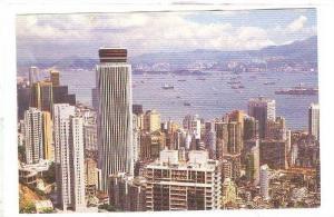 Hong Kong China, 50-70s , New Bldgs of Central & Wan Chai