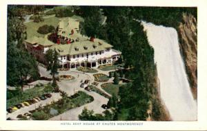 Canada - Quebec, Montmorency Falls.  Hotel Kent House