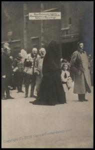 Austria WWI Kaiser Karl Franz Joseph Funeral Zita Otto  RPPC 65699