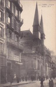 PARIS, France, 1900-1910's; L'Eglise, St. Leu