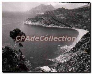 Modern Postcard Corsica Porto Beach From Gulf Of Bussagna
