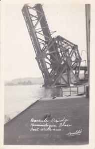 RP: FORT WILLIAM, Ontario, Canada, PU-1947; Bascule Bridge