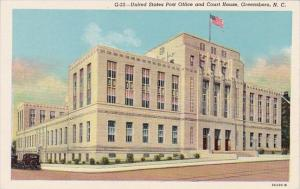 North Carolina Greensboro United States Post Office And Court House