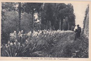 Giardino Del Convento Dei Francescani, Fiesole (Tuscany), Italy, 1910-1920s