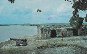 Fort Frederica National Monument, Fort Frederica, ST. SIMONS ISLAND, Georgia,...