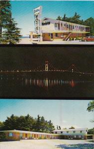 Michigan Mackinaw City Riviera Motel OnThe Water 1968