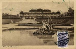 austria, VIENNA WIEN IV, Belvedere (1925) Stamp