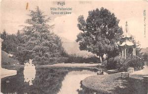 Italy Old Vintage Antique Post Card Pegli Villa Pallavicini Rip on back