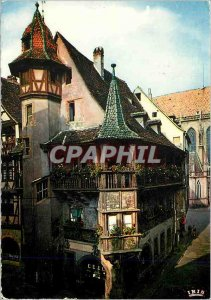 Modern Postcard Colmar Alsace Picturesque