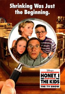 Advertising Disney's Honey I Shrunk The Kids TV Show 2004