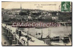 Postcard Old Saint Cloud Panorama
