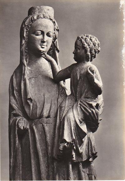 Czech Republic Holy Virgin with Child of Strakonice before 1330 Galerie v Pra...