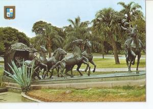 Postal 034946 : Montevideo (Uruguay). Monumento. La Diligencia