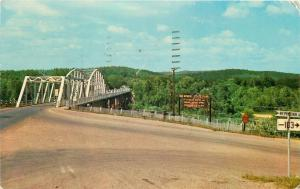 Van Buren Missouri~Curent River Bridge~1950s PC