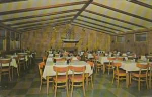 Michigan St Ignace Danny's Twilight Dining Room Interior