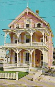 New Jersey Cape May Beautiful Victorian Architecture