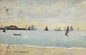 Yachts off PINE BEACH, Virginia, 00-10s