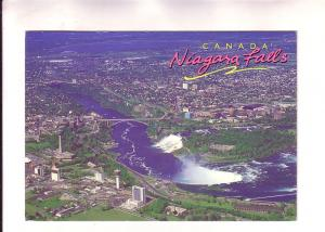 Aerila View of Both Falls, Niagara, Ontario, The Postcard Factory