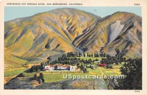 Arrowhead Hot Springs Hotel