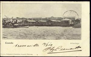 angola, LOANDA, Alfandega (1902) Stamp