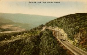 MA - Berkshires, Mohawk Trail. View from Western Summit