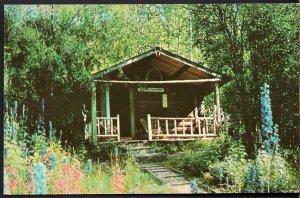 Yukon DAWSON CITY Robert Service's Cabin Yukon bard's cabin - Chrome