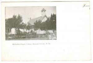 LISBON , North Dakota , PMC 1898 ; Methodist Chapel