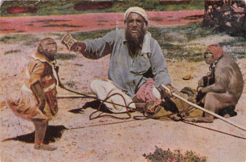 India Native Monkey Charmer sk6986