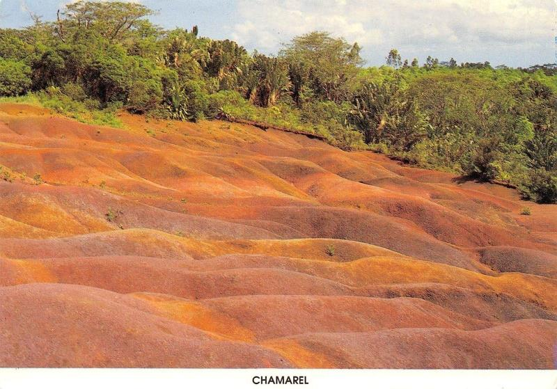 Mauritius Ile Maurice seven-coloured earth, Chamarel fairy-tale panorama