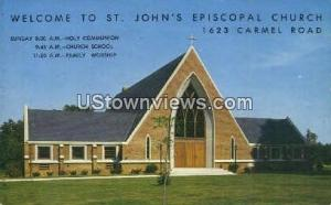 St. John's Episcopal Church Charlotte NC Unused