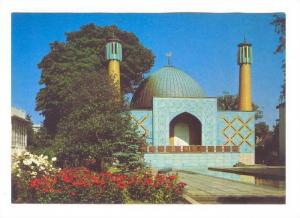 Hamburg, Islamisches Zentrum Moschee, Germany, 50-70s