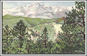 Colorado -  Pikes Peak - [CO-056]