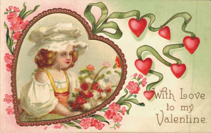 With Love To My Valentine Embossed 04.80