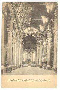 Genova - Chiesa della SS. Annunziata (Interno), Italy, 00-10s