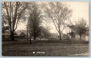 Lyme New Hampshire~Payson E Fairfield: Some Former Pupils on this Road~1909 RPPC