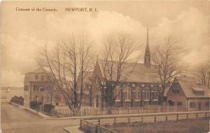 Convent Cenacle Newport Rhode Island Albertype postcard