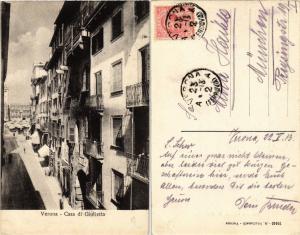CPA VERONA Casa di Guilietta . ITALY (448421)