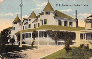 Brainerd Minnesota NP Sanitarium Exterior Vintage Postcard JD933451