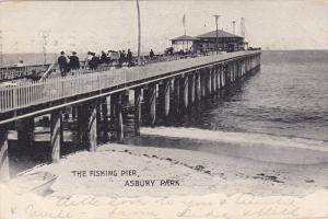 ASBURY PARK, New Jersey; Fishing Pier, PU-1905