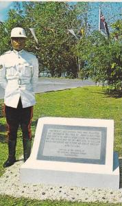 Memorial marker for John F. Kennedy, The Bahama Islands, Nassau, Bahamas,  PU...