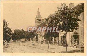 Old Postcard CORMATIN (S-and-S) La Grande Rue