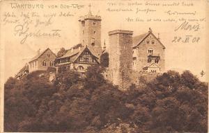 Wartburg von Sued-West Castle Towers Chateau