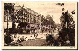 Old Postcard Toulouse Wilson Square And The entrance driveways Jean Jaures