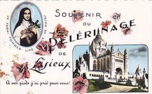 France Lisieux Souvenir Du Pelerinage De Lisieux